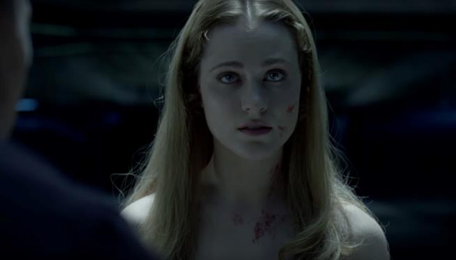 L'attrice Evan Rachel Wood
