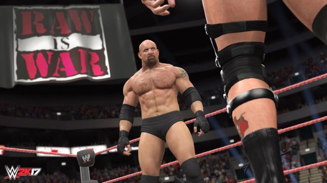 Uno screen di WWE 2K17