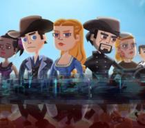 Concept art del videogioco Westworld