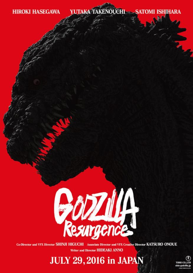 Godzilla Resurgence si prepara a terrorizzare il Giappone nel 2016