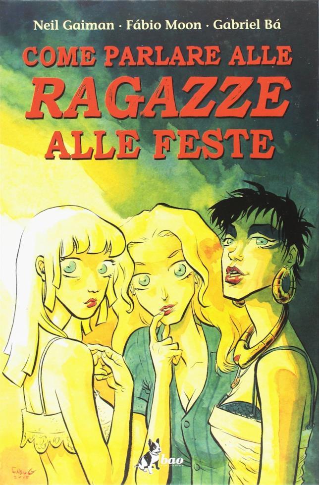 Cover del fumetto Come parlare alle ragazze alle feste