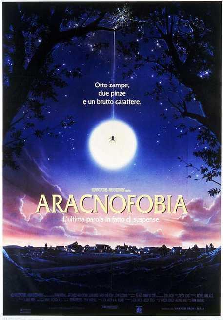 Il poster di Aracnofobia