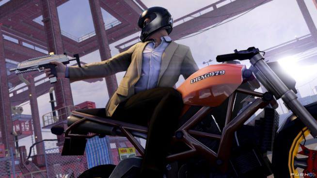 Un folle inseguimento in moto in Sleeping Dogs