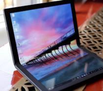 Foto del PC pieghevole di Lenovo