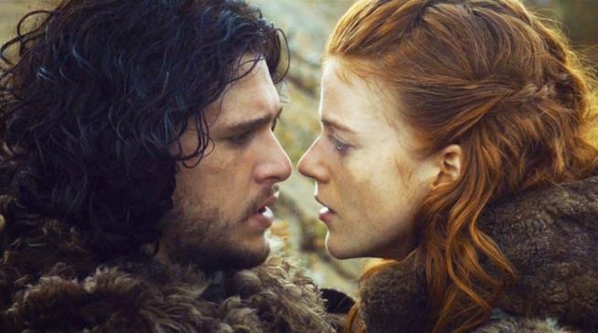 IL'amore di Jon Snow e Ygritte
