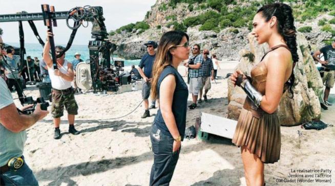 Gal Gadot e Patty Jenkins, protagonista e regista di Wonder Woman