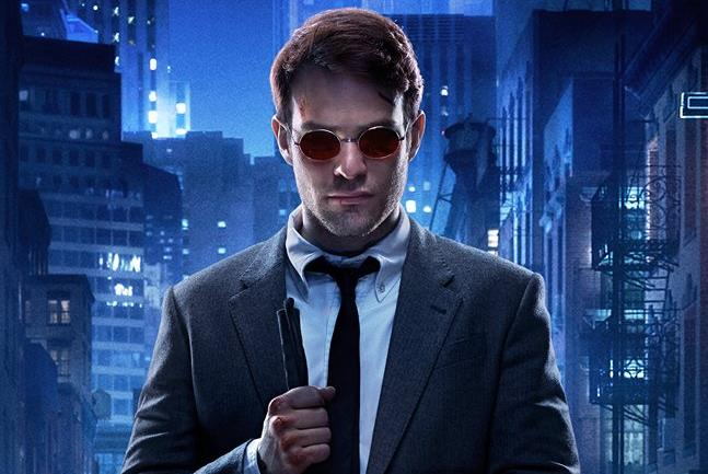 Poster dedicato alla serie Marvel's Daredevil