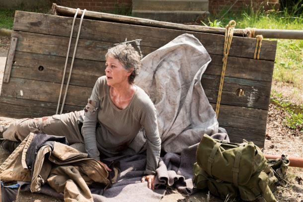 Carol in una scena della stagione 7
