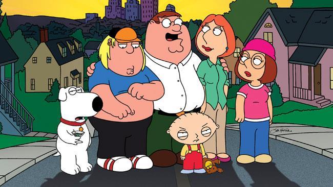 La famiglia Griffin è pronta ad andare al cinema