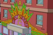L'Aztec Theater, cinema storico de I Simpson