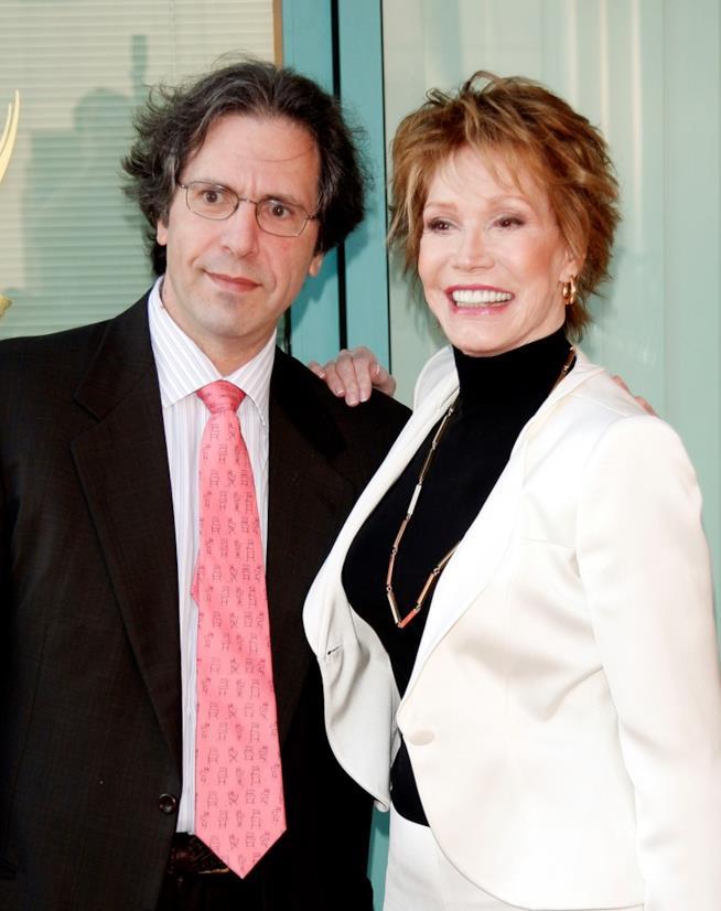Mary Tyler Moore con il marito