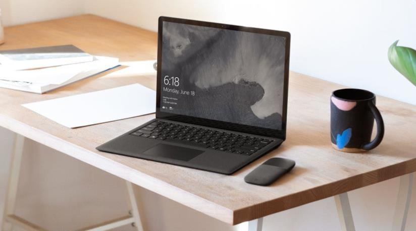 Il Surface Laptop 2 di Microsoft