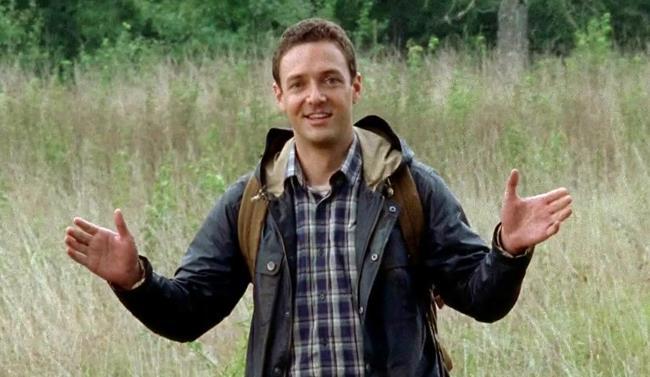 Aaron in The Walking Dead