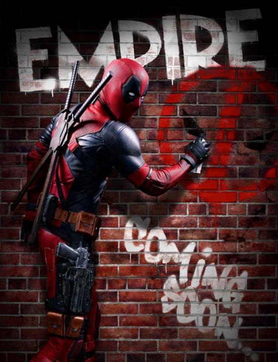 Deadpool sulla copertina di Empire Magazine