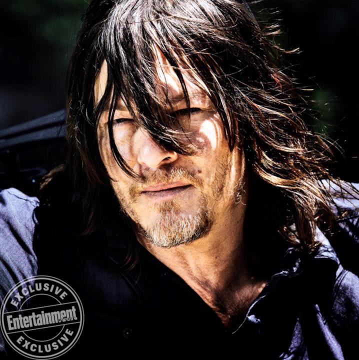 Daryl in un'immagine dell'ottava stagione