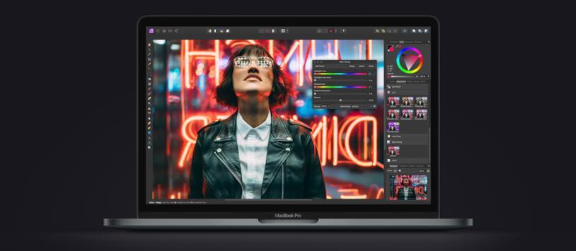 Immagine promozionale dell'attuale MacBook Pro da 13 pollici