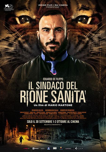 Francesco di Leva nel poster de Il sindaco del Rione Sanità