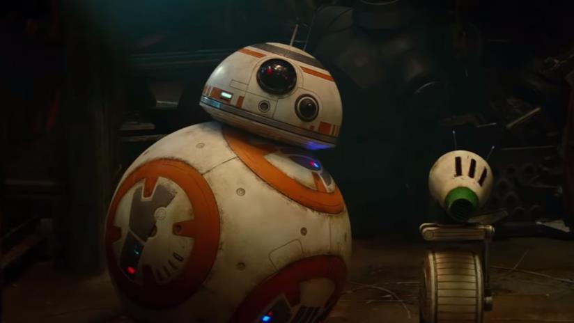 I droidi BB8 e D-O da Star Wars 9