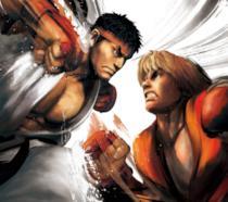 Ryu vs. Ken in Street Fighter