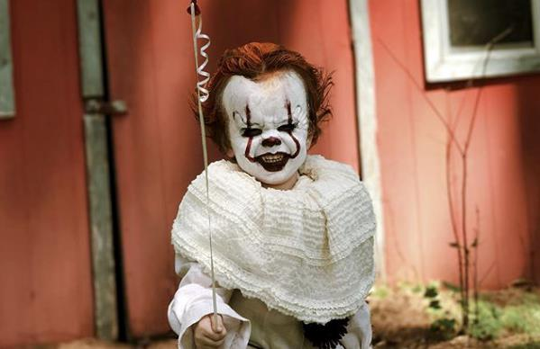 Pennywise in versione baby