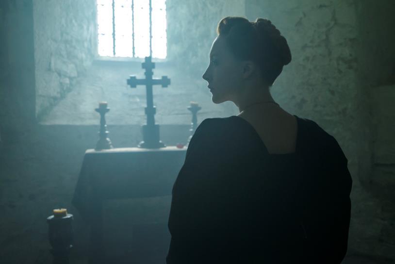 Saoirse Ronan prega