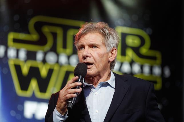 Primo piano di Harrison Ford