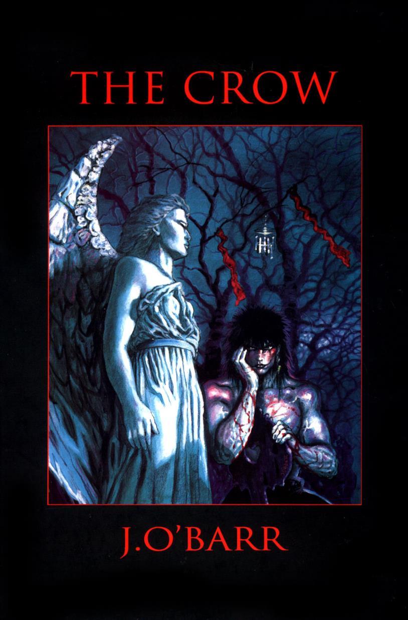 La copertina originale del fumetto Il Corvo