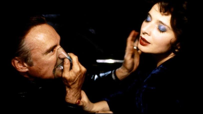 Dennis Hopper in una scena del film
