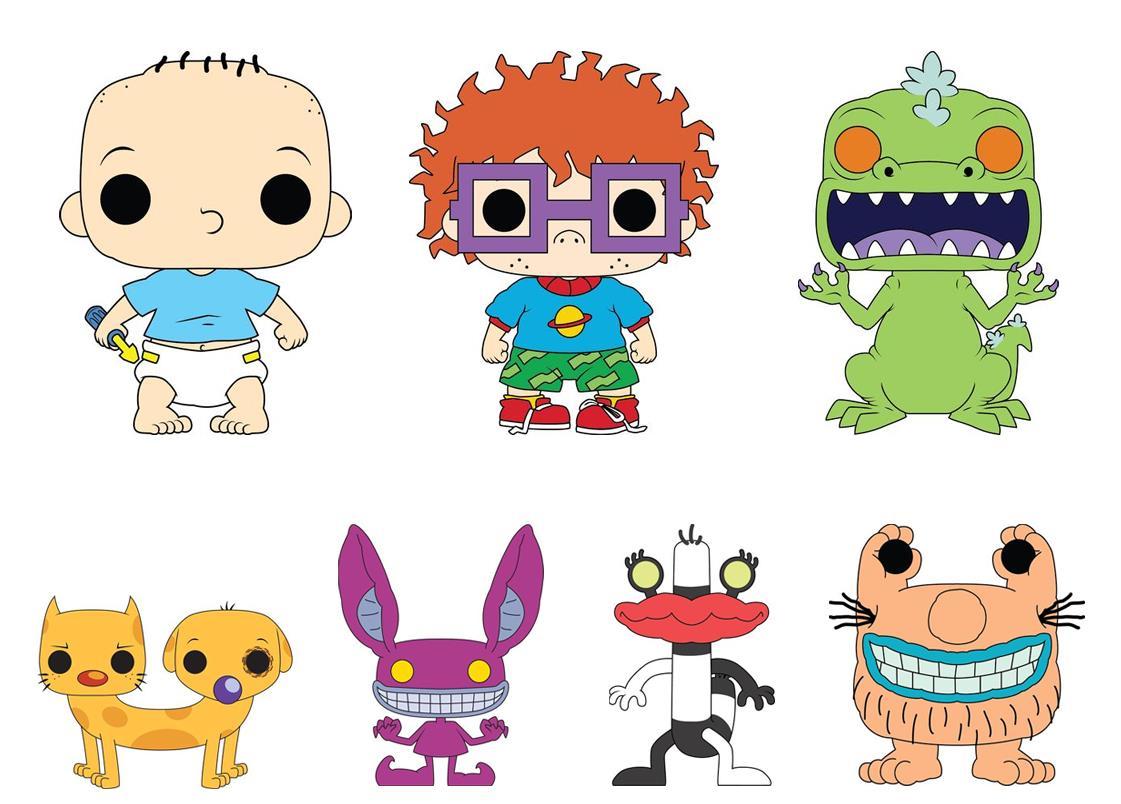 I Rugrats nelle concept-art dedicate ai loro Funko Pop! Vinyl