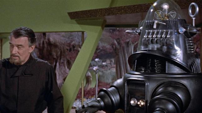 Il dottor Morbius è interpretato da Walter Pidgeon