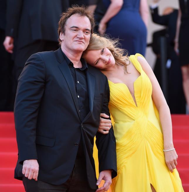Uma Thurman e Quentin Tarantino sul red carpet