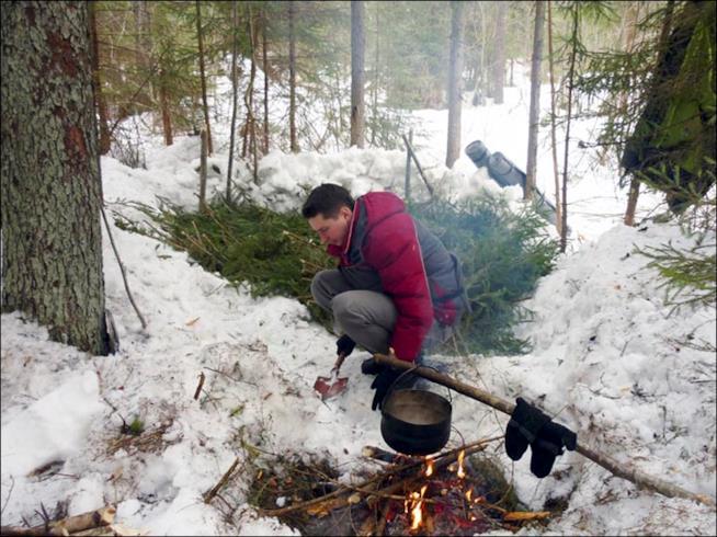 I ghiacci dell'inverno in Siberia