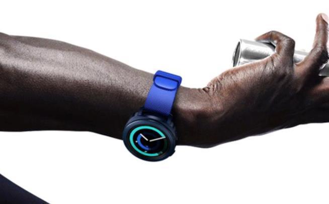 Immagine promozionale del Samsung Gear Sport