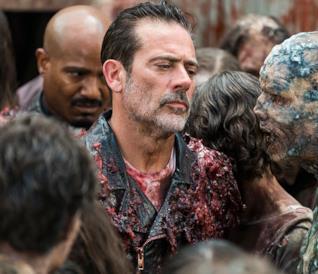 Negan: arriva la prima immagine dal set di The Walking Dead 9