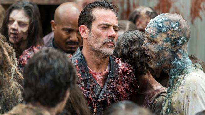 Negan: arriva la prima immagine dal set di The Walking Dead 9