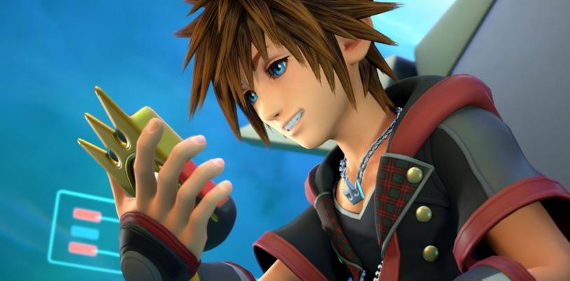 Sora in un'immagine da Kingdom Hearts III