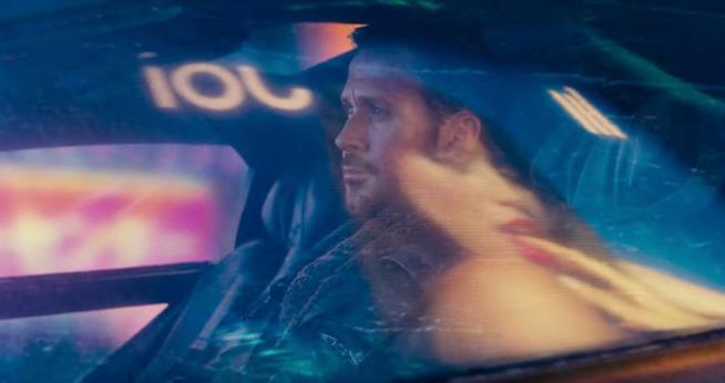 Ryan Gosling in un frame del nuovo trailer ufficiale di Blade Runner 2049