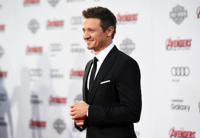 Jeremy Renner alla premiere di Avengers: Age of Ultron