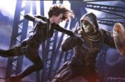 Scarlett Johansson nei panni di Vedova Nera in Captain America: Civil War