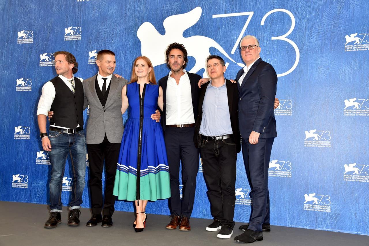 Il cast di Arrival a Venezia 73