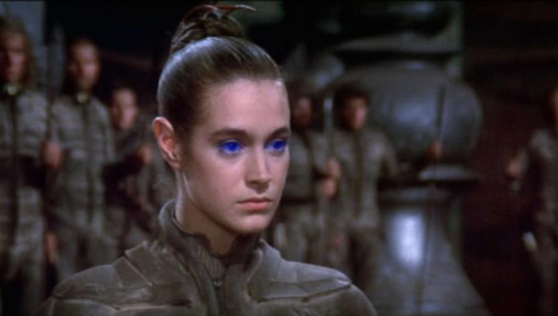 Primo piano di Sean Young nel ruolo di Chani in Dune (1984)