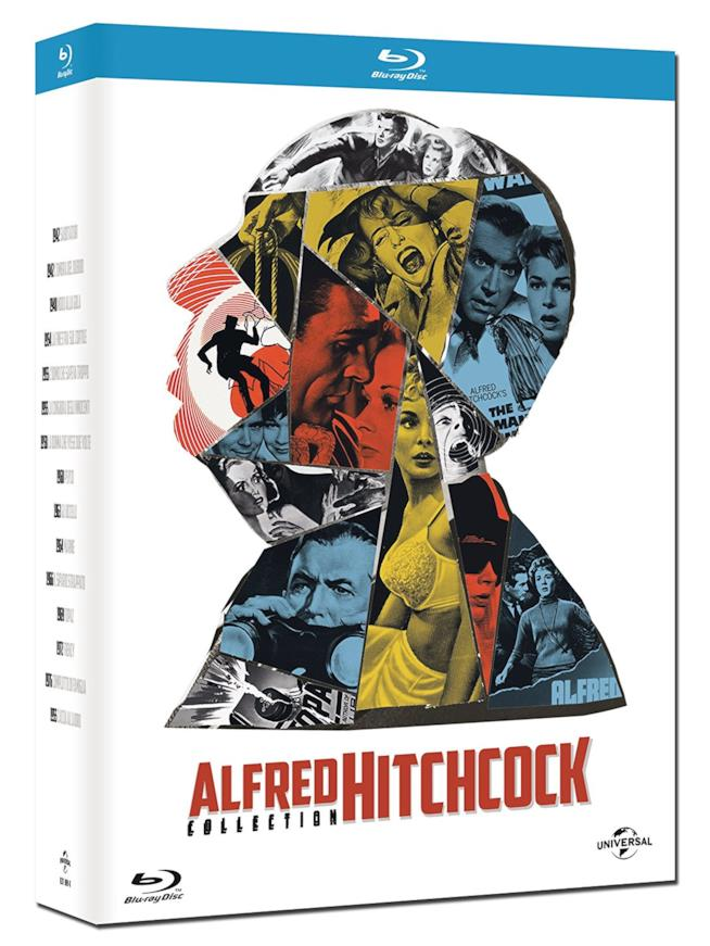 I film di Alfred Hitchcock nella collezione Blu-rey