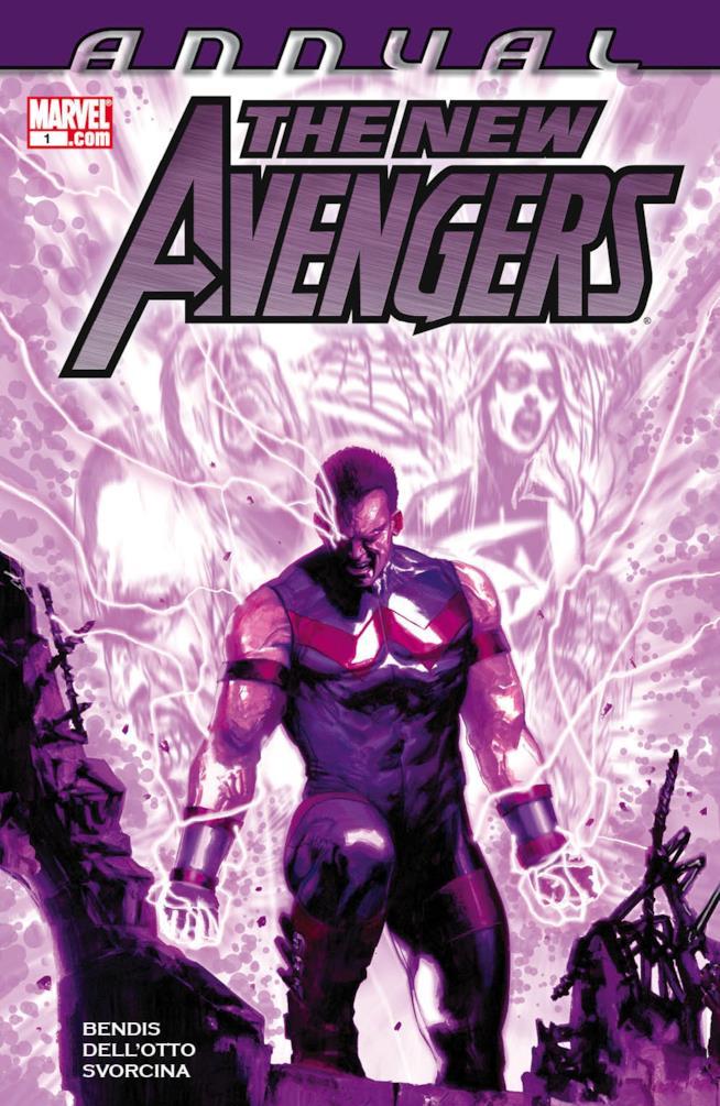 Copertina viola di New Avengers Annual Vol. 2 #1