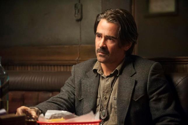 Colin Farrell in una scena di True Detective