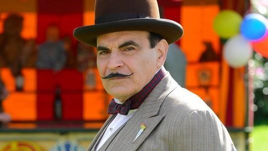 David Suchet come Poirot nella serie TV