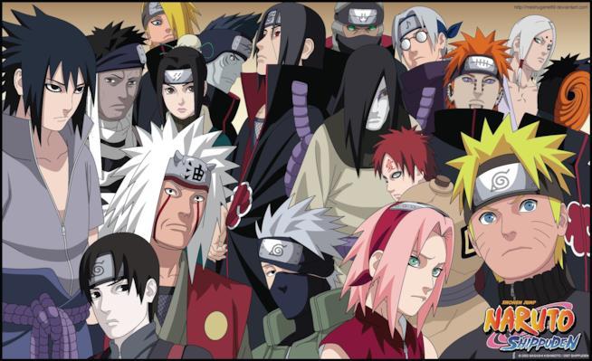 Naruto e il magnifico cast