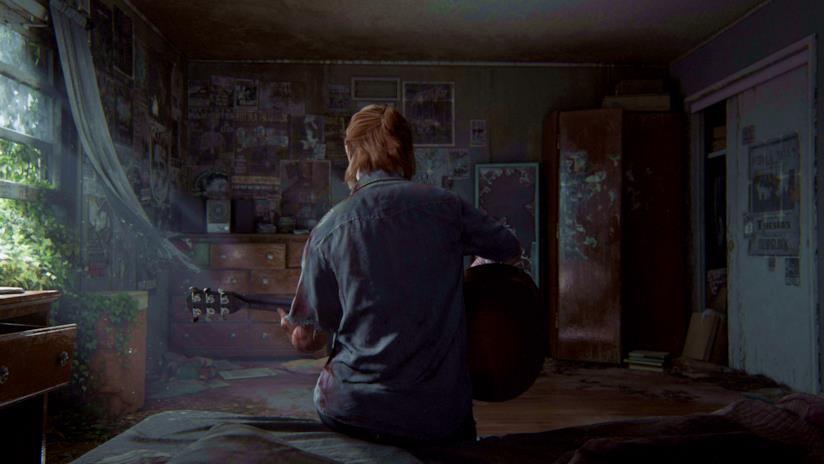 Ellie suona la chitarra nel primo trailer di The Last of Us Part II