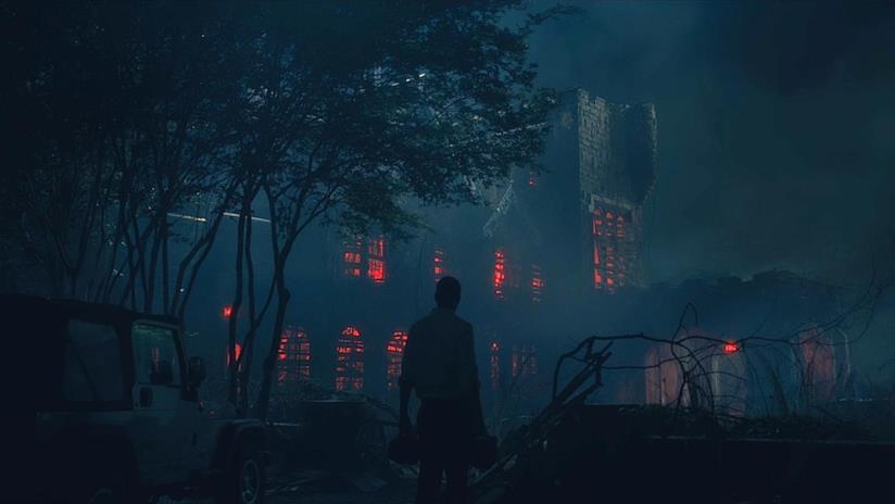 Scena tratta da The Haunting of Hill House