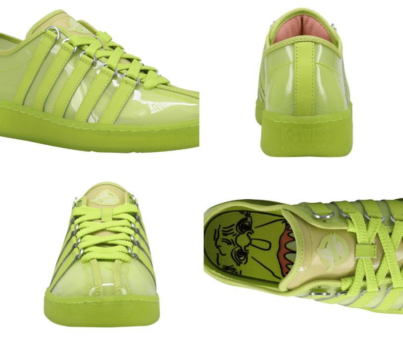 """La scarpa """"Slimer"""" che omaggia i 35 anni del film Ghostbusters vista da 4 angolazioni diverse"""