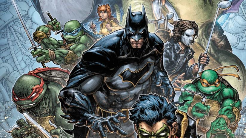 Tartarughe NInja e Batman